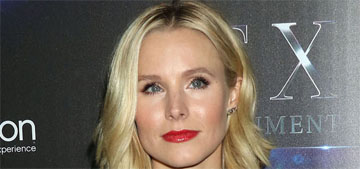 Kristen Bell on her anxiety: 'I shatter when I think people don't like me'