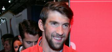 Michael Phelps welcomes son Boomer Robert on Cinco de Mayo