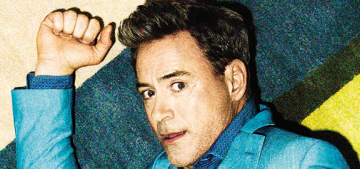 Robert Downey Jr.'s biggest splurge? 'Epsom salts & baking soda,' for baths