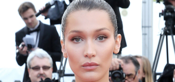 Bella Hadid in Cavalli & De Grisogono jewels at Cannes: stunning or boring?