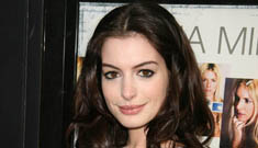 """Anne Hathaway at the """"Becoming Jane"""" premiere"""