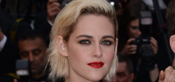 Kristen Stewart in Chanel at Cannes 'Cafe Society' premiere: tragic or cute?