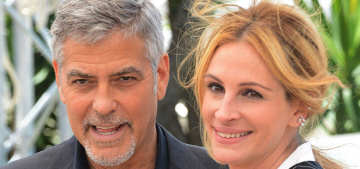 George Clooney reveals his birthday gift from Amal: a riding mower??
