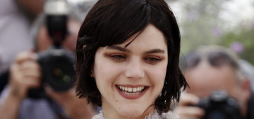 Soko wears lace Chloe doily to Cannes photocall: interesting or terrible?