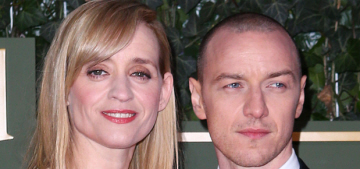 James McAvoy & Anne-Marie Duff are divorcing after nine years of marriage
