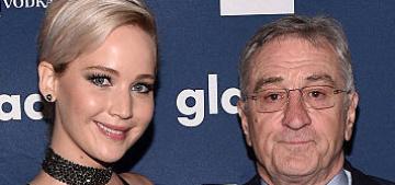 Robert DeNiro to Jennifer Lawrence: 'If I were a lesbian, I'd be all over you'