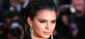 Kendall Jenner in Roberto Cavalli at Cannes: surprisingly good or just meh?