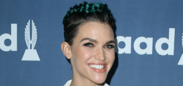 Ruby Rose kicked out of New Orleans restaurant for throwing fries