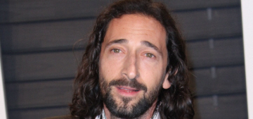 Adrien Brody: Woody Allen's past behavior is 'not something to focus on'
