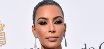 Kim Kardashian in Lanyu at Cannes de Grisogono party: stylish or tragic?