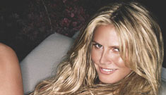 Heidi Klum naked in Arena Magazine