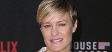 Robin Wright asked for & got equal pay to Kevin Spacey on 'House of Cards'