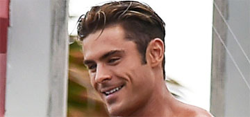 Zac Efron on movie nudity: 'Let's just say I'm not opposed to anything'