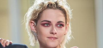 """Did Kristen Stewart 'steal' her Cannes pink-eye look from Soko?"" links"