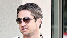Gerard Butler travels to India for booty call (poor Jennifer Aniston)