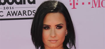 Demi Lovato wore a Chanel suit, transgender symbol shirt to the BBMAs