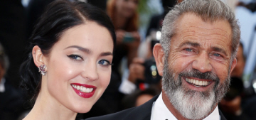Mel Gibson, 60, walked the Cannes red carpet with his 25-year-old girlfriend