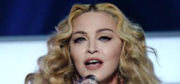 Madonna managed to make the Prince tribute all about Madonna after all