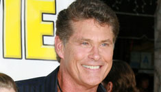 The Hoff talks about The Burger