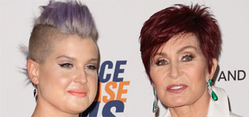 Sharon Osbourne thinks it's hilarious that Kelly tweeted her rival's phone number
