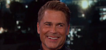 Rob Lowe is in talks to join Kelly Ripa as co-host on Live: good choice?