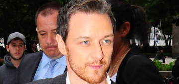 Do you see any sexual tension between James McAvoy & Alexandra Shipp?