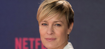 Robin Wright is 'thrilled' that Sean Penn's movie flopped with critics in Cannes