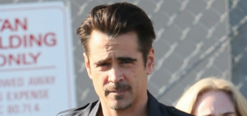Colin Farrell gained 40 lbs: would you kick him out of bed for eating burgers?