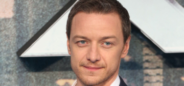 Star: James McAvoy acted single & boozy last year while working on 'X-Men'