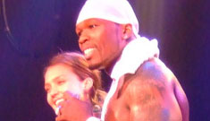 Jessica Alba and 50 Cent?