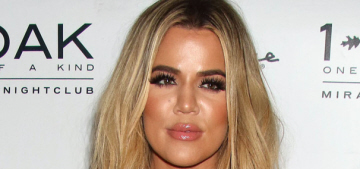 Khloe Kardashian in pink latex at 1Oak in Las Vegas: tragic Barbie or hot?