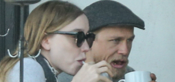 Charlie Hunnam & Morgana McNelis spent the Memorial Day holiday together