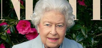 Queen Elizabeth, her corgis & her dorgis cover the new Vanity Fair: amazing?