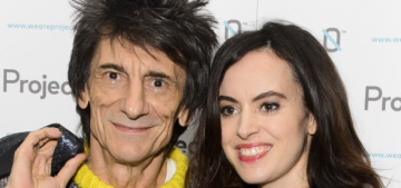 Ronnie Wood, 68, welcomed twin girls with his 38-year-old wife Sally