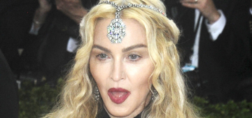 Madonna & Guy Ritchie resolved Rocco's custody dispute, Rocco's in NYC now