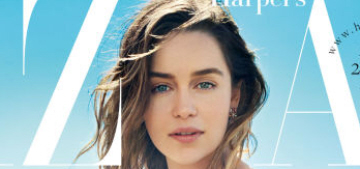 Emilia Clarke only realized recently that the world is still pretty sexist
