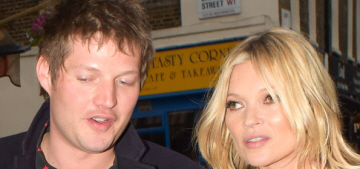 Kate Moss is back with her 28-year-old lover, not her 18-year-old lover