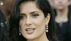 Colin Farrell makes Salma Hayek sick