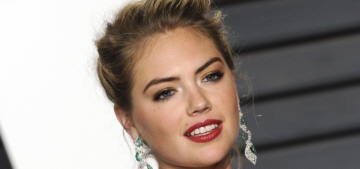 Kate Upton admits defeat, returns to modeling after trying out actress-ing