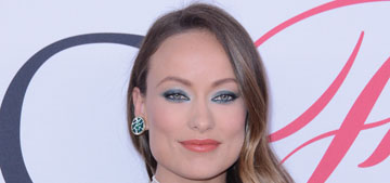 Olivia Wilde in cutout Rosie Assoulin at the CFDAs: flattering or weird?