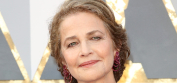 Charlotte Rampling on her #OscarsSoWhite drama: 'I'm anything but racist'