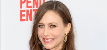 Vera Farmiga in sheer purple at the The Conjuring 2 premiere: fug or whimsical?