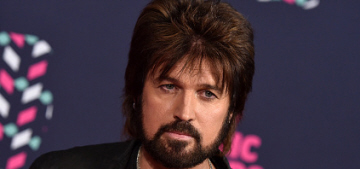 Billy Ray Cyrus's fancy-pants wiglet was the best part of the CMT Awards