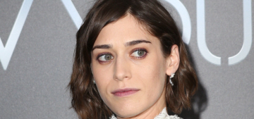 """""""Lizzy Caplan's Erdem dress is something you can only love or hate"""" links"""