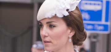 Duchess Kate in a Catherine Walker coatdress at St. Paul's: cute or cloying?