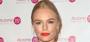 Kate Bosworth doesn't eat wheat, sugar or dairy, follows 80/20 diet