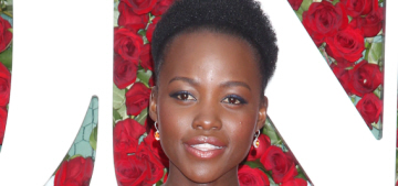 Lupita Nyong'o in Boss by Jason Wu at the Tony Awards: lovely or boring?
