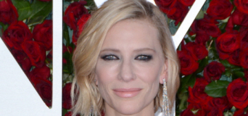 Cate Blanchett in Louis Vuitton at the Tony Awards: the saddest look of the night?