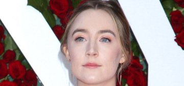 Saoirse Ronan in Stella McCartney at the Tonys: pretty or problematic?