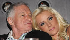 Hugh Hefner buys Crystal Harris puppy for 23rd BDay, doesn't want Holly back